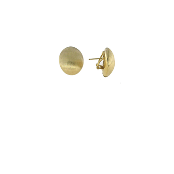 18Kt Gold Satin Finish Earrings
