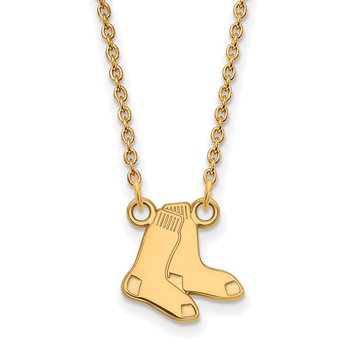 Gold Boston Red Sox MLB Necklace