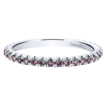 14K White Gold S.Alexandrite Fashion Ring