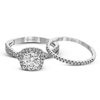 Simon G NR468 WEDDING SET