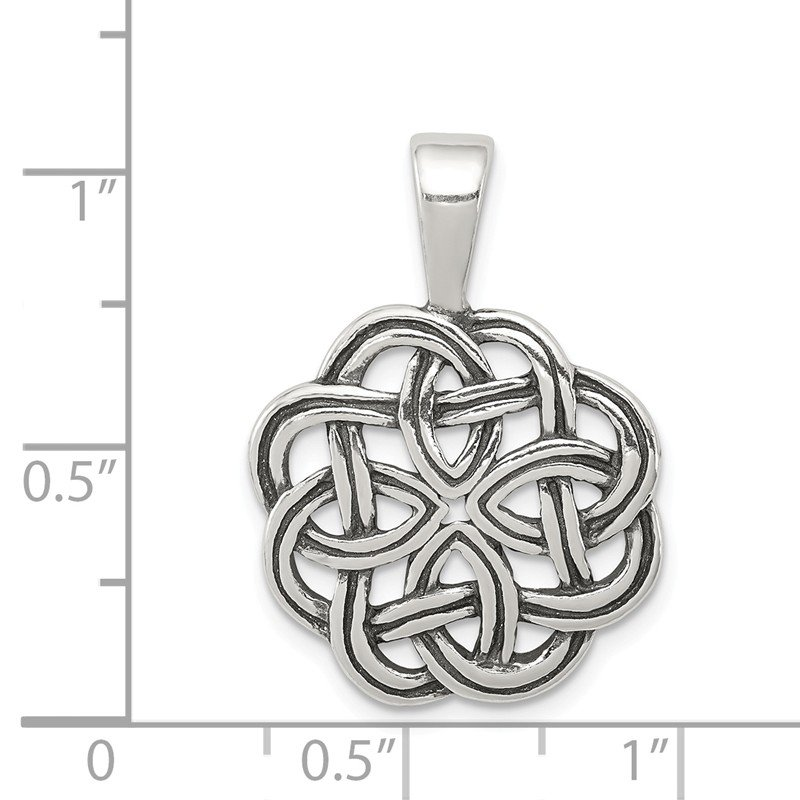Quality Gold Sterling Silver Celtic Pendant