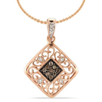 COLORFUL DIAMONDS PENDANT