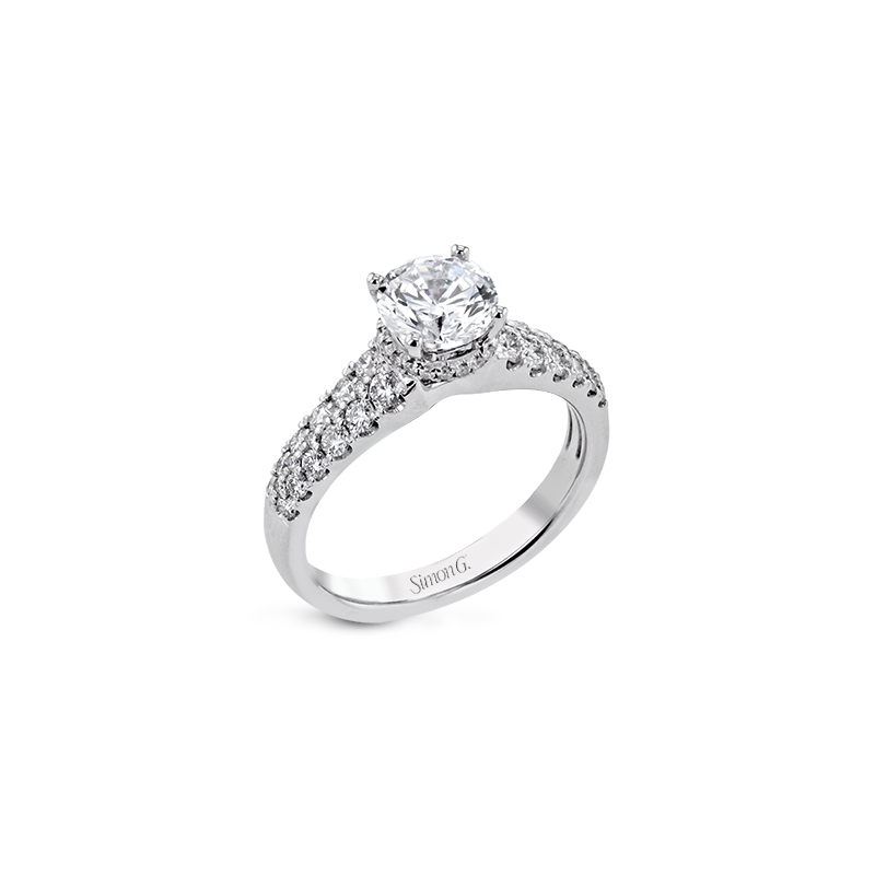Simon G LR2810 ENGAGEMENT RING