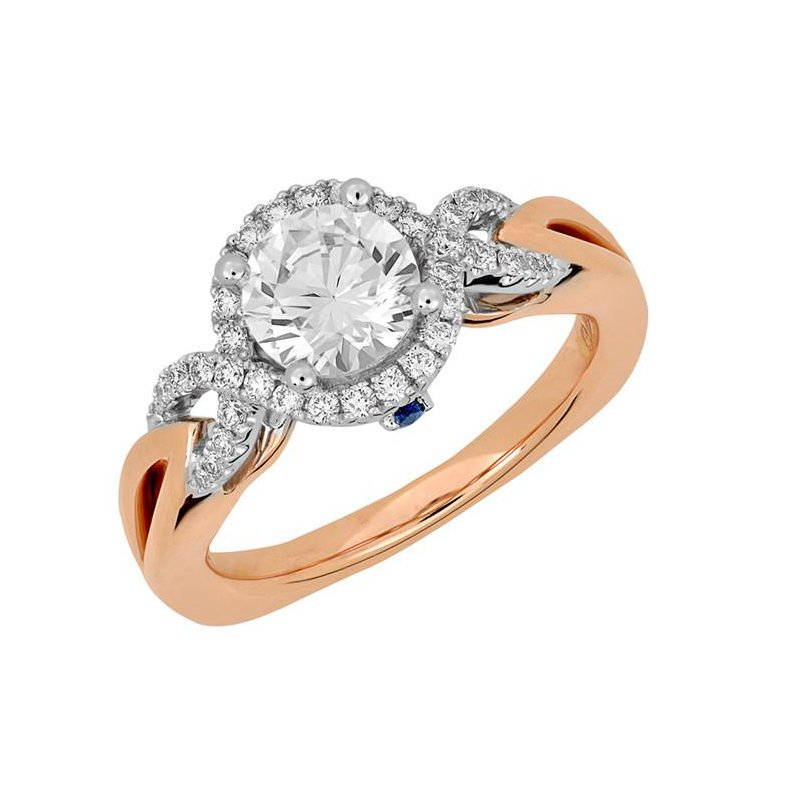 Chatham Bridal Ring-RE13313RW10R