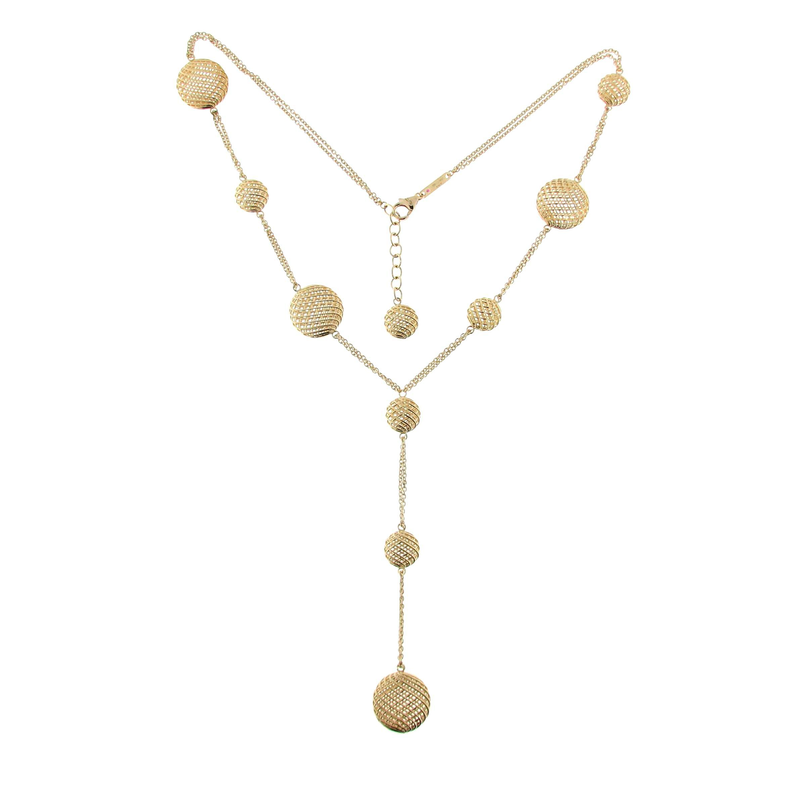 Roberto Coin 18Kt Y Necklace