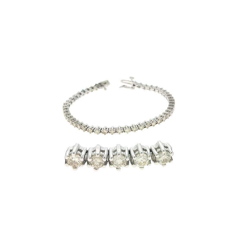 S. Kashi  & Sons Tennis Bracelet All Diamond