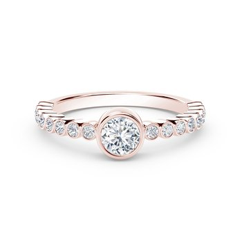 The Forevermark Tribute™Collection Diamond Stackable Ring