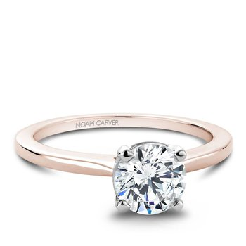 Noam Carver Modern Engagement Ring B018-01RWA