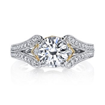 MARS 26040TT Diamond Engagement Ring 0.33 Ctw.