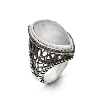 Paradise Signature Silver Ring