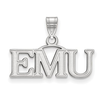 Gold Eastern Michigan University NCAA Pendant