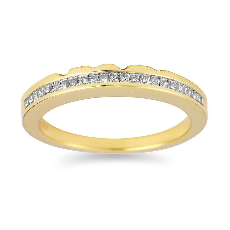 BB Impex 14K YG Diamond Band for Fascination
