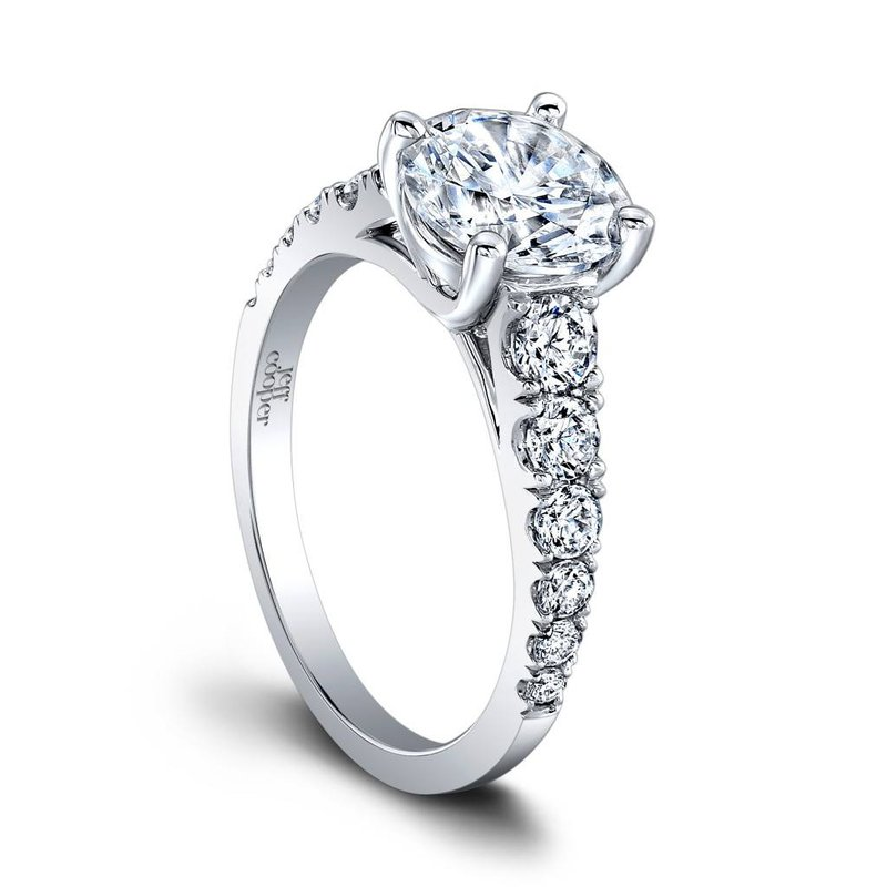 Jeff Cooper Taffy Engagement Ring
