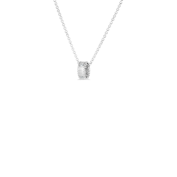 18Kt Gold Princess Necklace With Diamonds