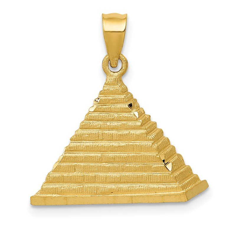 Quality Gold 14k Pyramid Charm