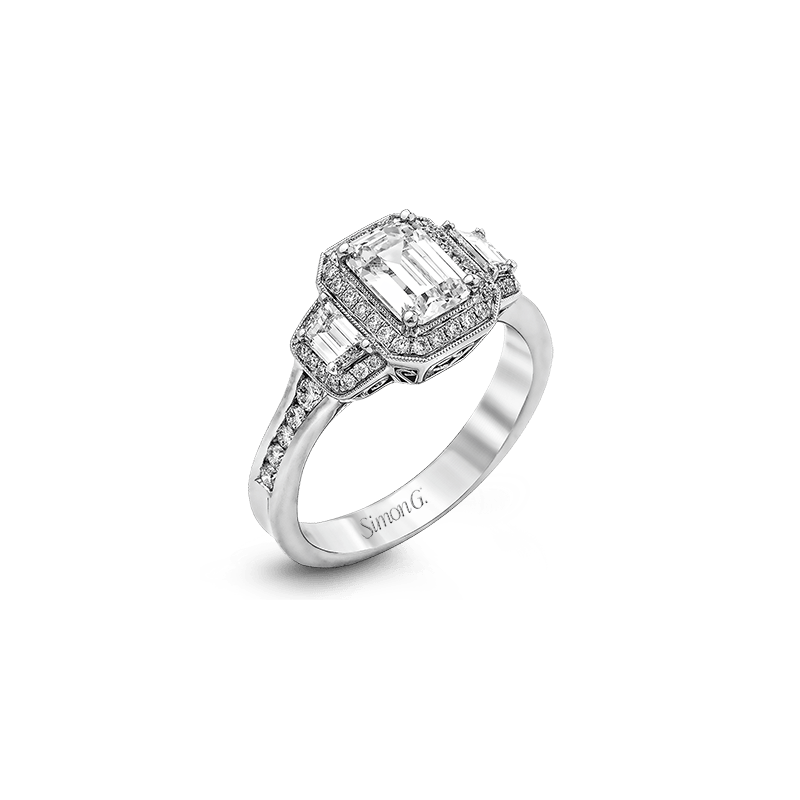Simon G MR2386 ENGAGEMENT RING