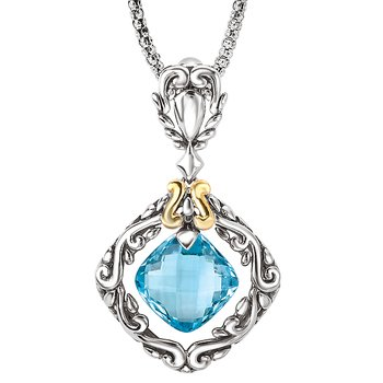 Ladies Fashion Gemstone Pendant