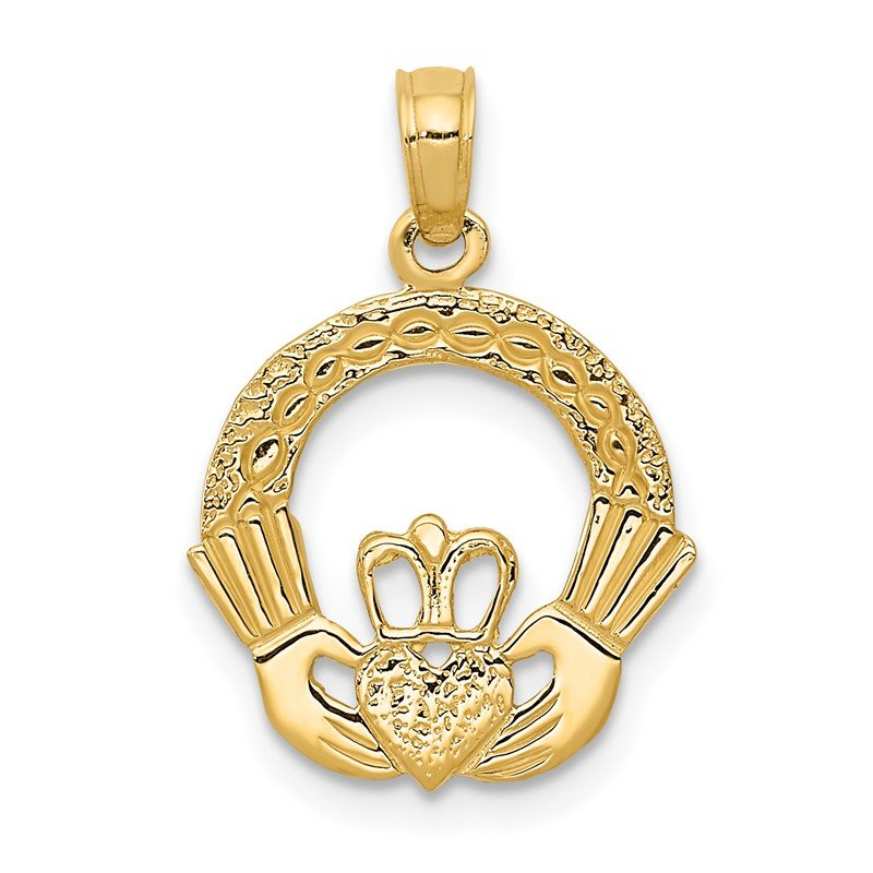 J.F. Kruse Signature Collection 14k Claddagh Charm