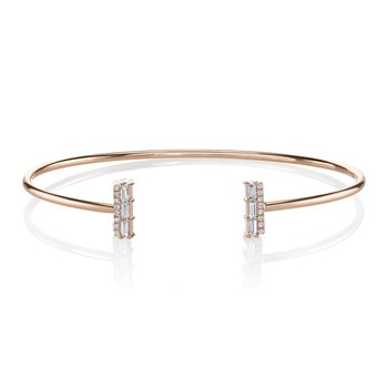 MARS 26813 Fashion Bracelet, 0.06  Ct Rd 0.19 Ct Bg