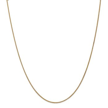 Leslie's 14K 1.2mm Spiga (Wheat) Chain