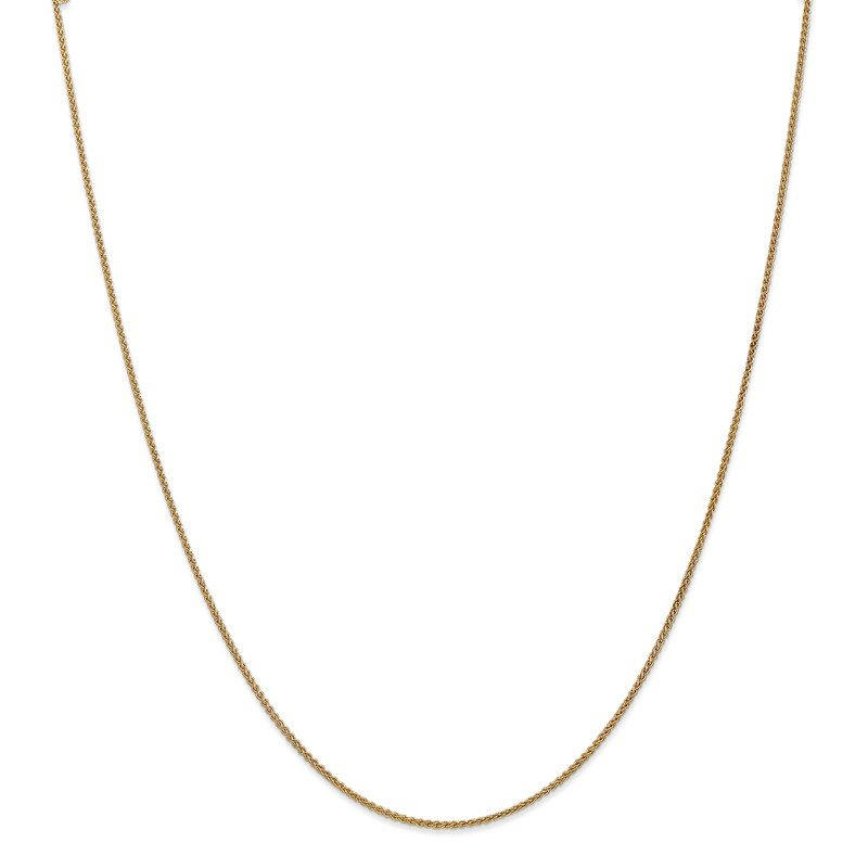 Leslie's Leslie's 14K 1.2mm Spiga (Wheat) Chain