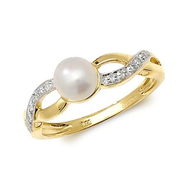 Diamond & Fresh Water Pearl
