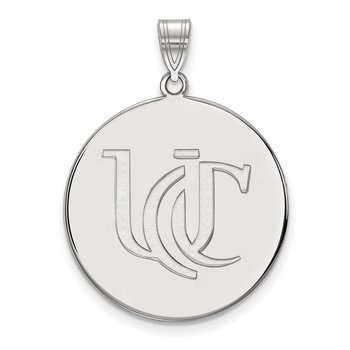 Gold University of Cincinnati NCAA Pendant