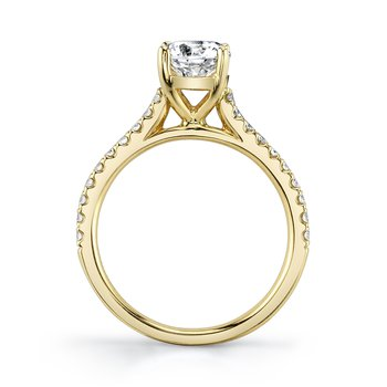 MARS 27084 Engagement Ring, 0.25 Ctw.