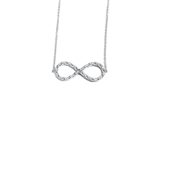 GOLD INFINITY PENDANT ON CHAIN