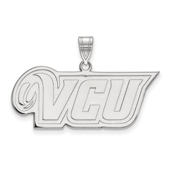Sterling Silver Virginia Commonwealth University NCAA Pendant