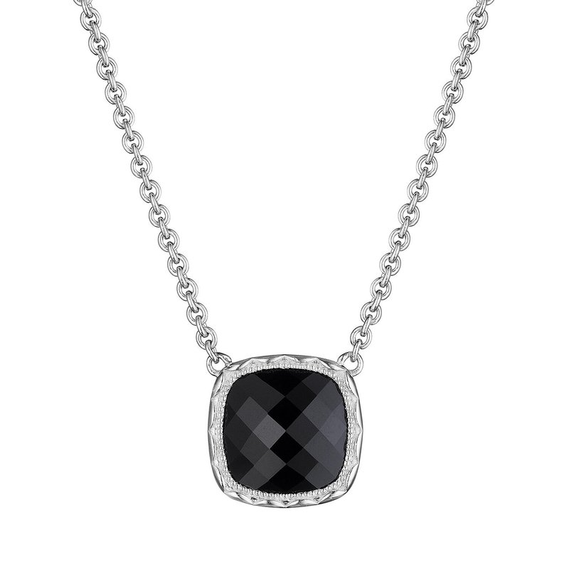 Tacori Fashion Cushion Gem Necklace with Black Onyx