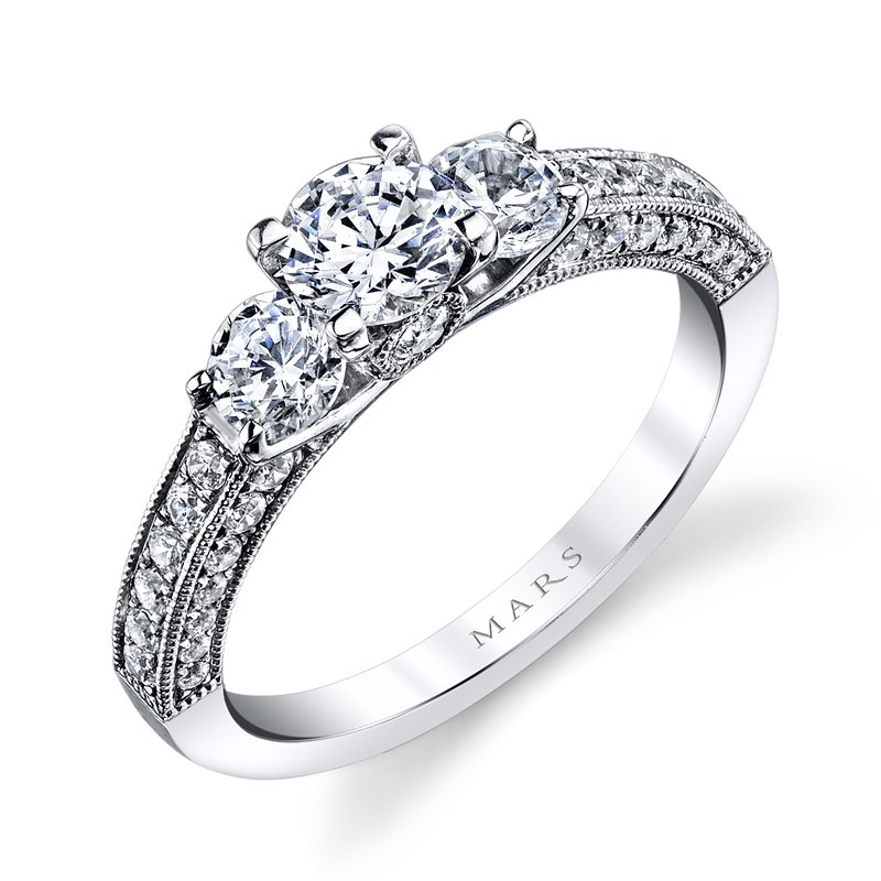 MARS Jewelry - Engagement Ring 25472