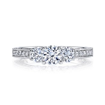 Diamond Engagement Ring 0.95 ct tw
