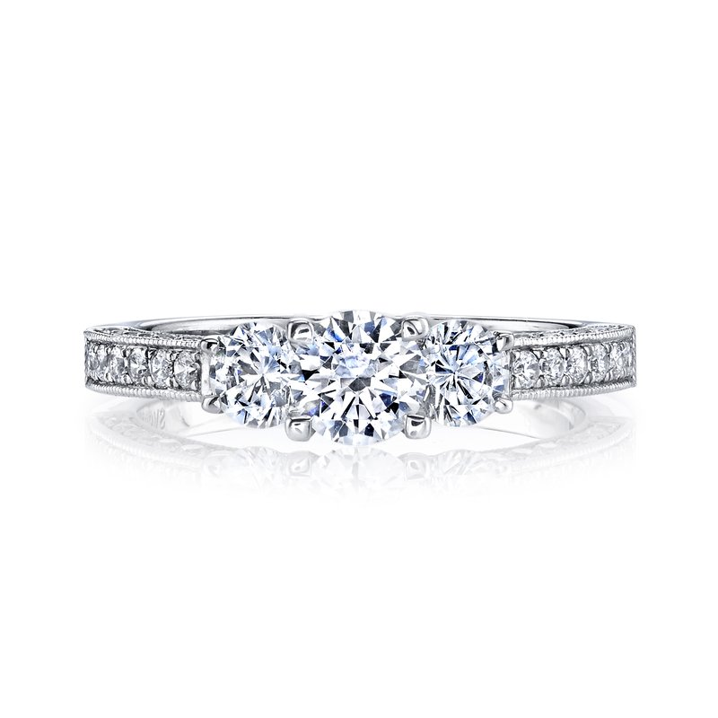MARS Jewelry Diamond Engagement Ring 0.95 ct tw