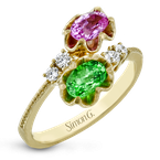 Simon G LR2464 COLOR RING