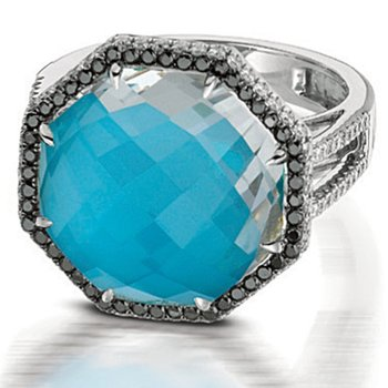 St. Barths Blue Turquoise Ring