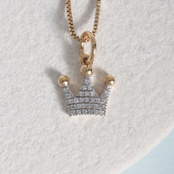 Queen Of All Things Gold Necklace