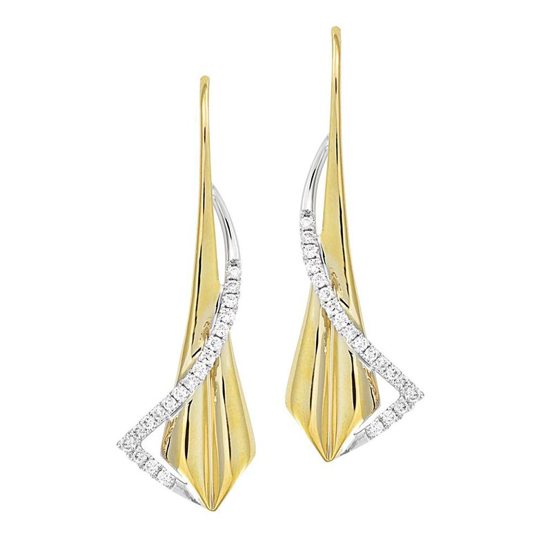 Chatham Diamond Fashion Earrings - FDE4504YW