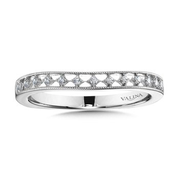 Diamond and 14K White Gold Wedding Ring (0.07 ct. tw.)