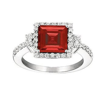 Ruby Ring-CR6636WRU