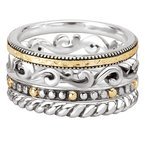 Eleganza Ladies Fashion Stackable Rings