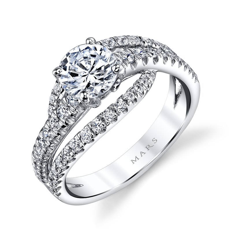 MARS Jewelry - Engagement Ring 25532