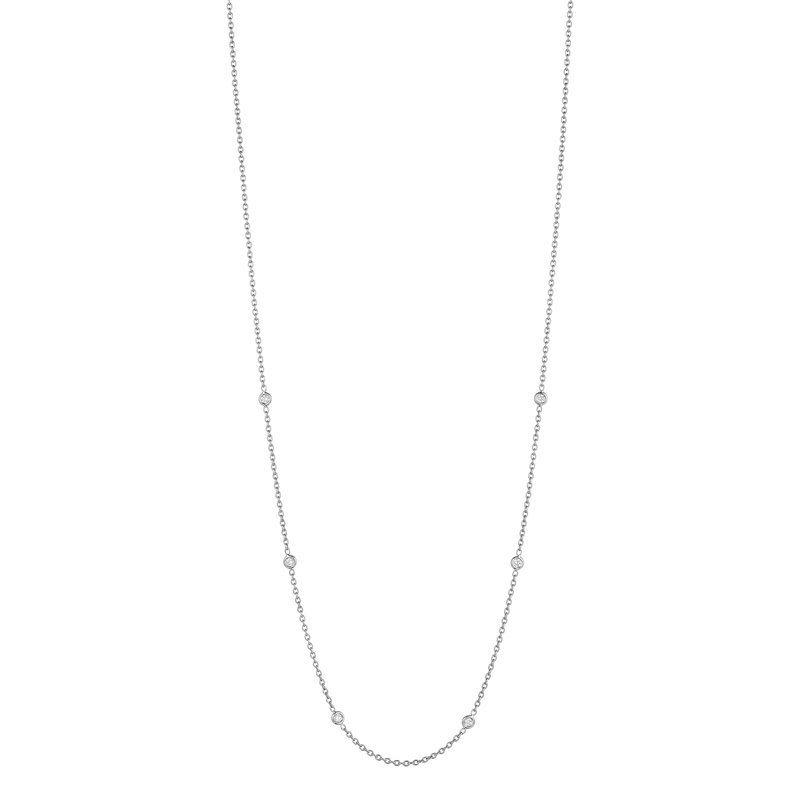 "Penny Preville 18"" Diamond Eyeglass Chain"