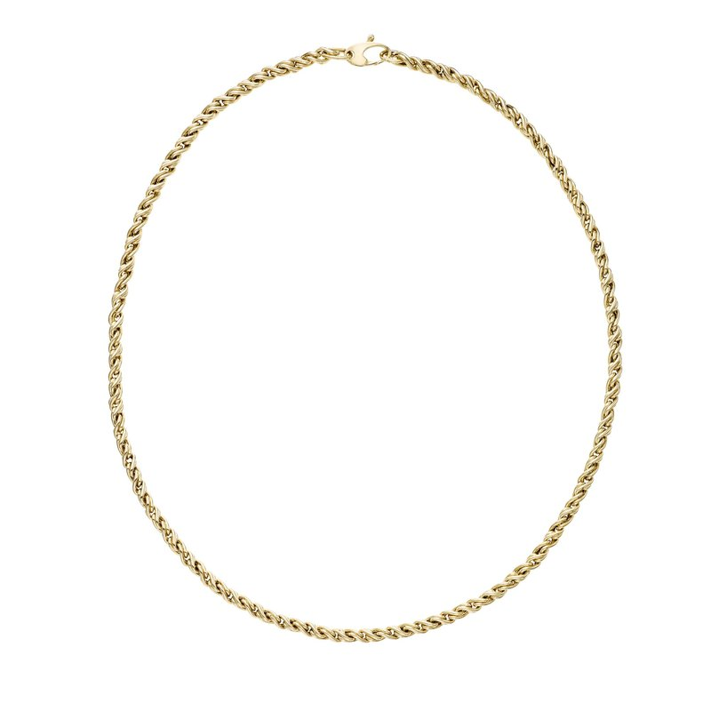 Royal Chain 14K Gold Modern Braid Link