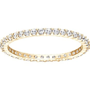 Vittore Ring, White, Gold-tone plated