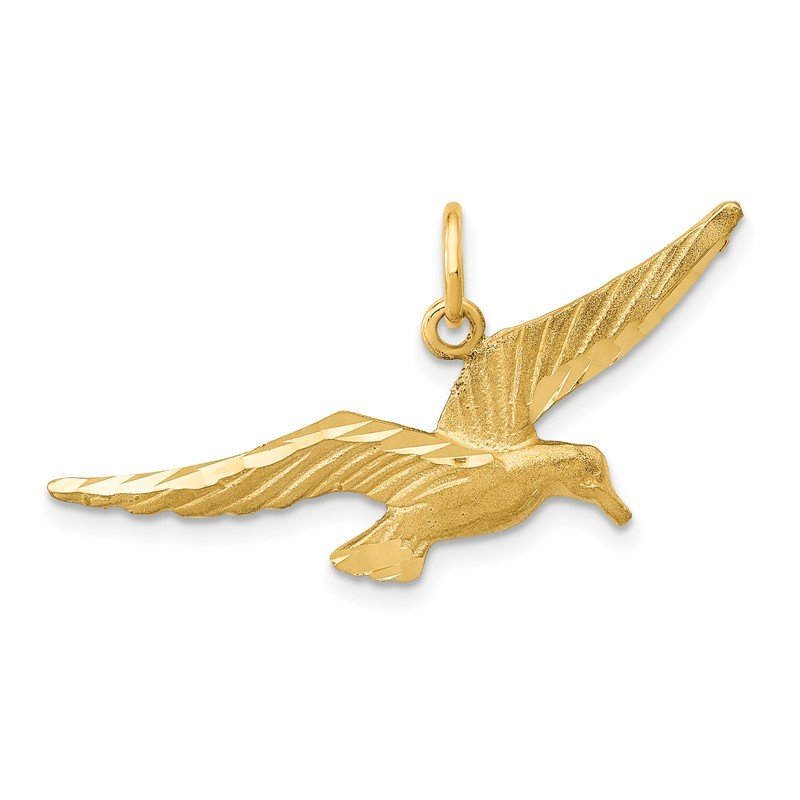 Quality Gold 14k Seagull Charm