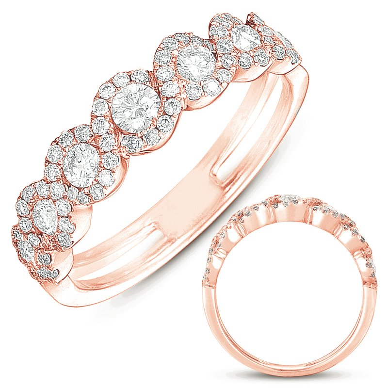 S. Kashi & Sons Bridal Rose Gold Fashion Ring