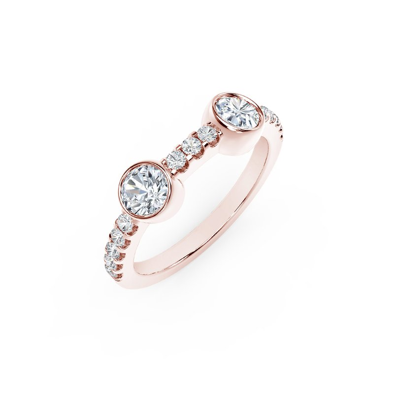 Forevermark The Forevermark Tribute™ Collection Two Stone Diamond Ring
