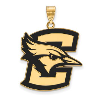 Gold-Plated Sterling Silver Creighton University NCAA Pendant