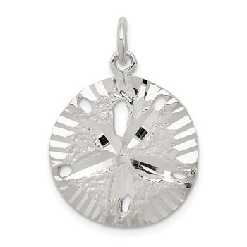 Sterling Silver Sand Dollar Charm